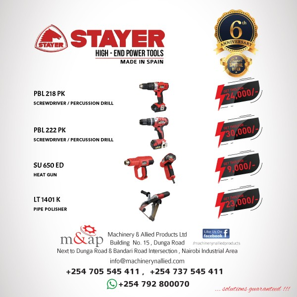 Photo for Stayer High-end Power Tools - April Offer